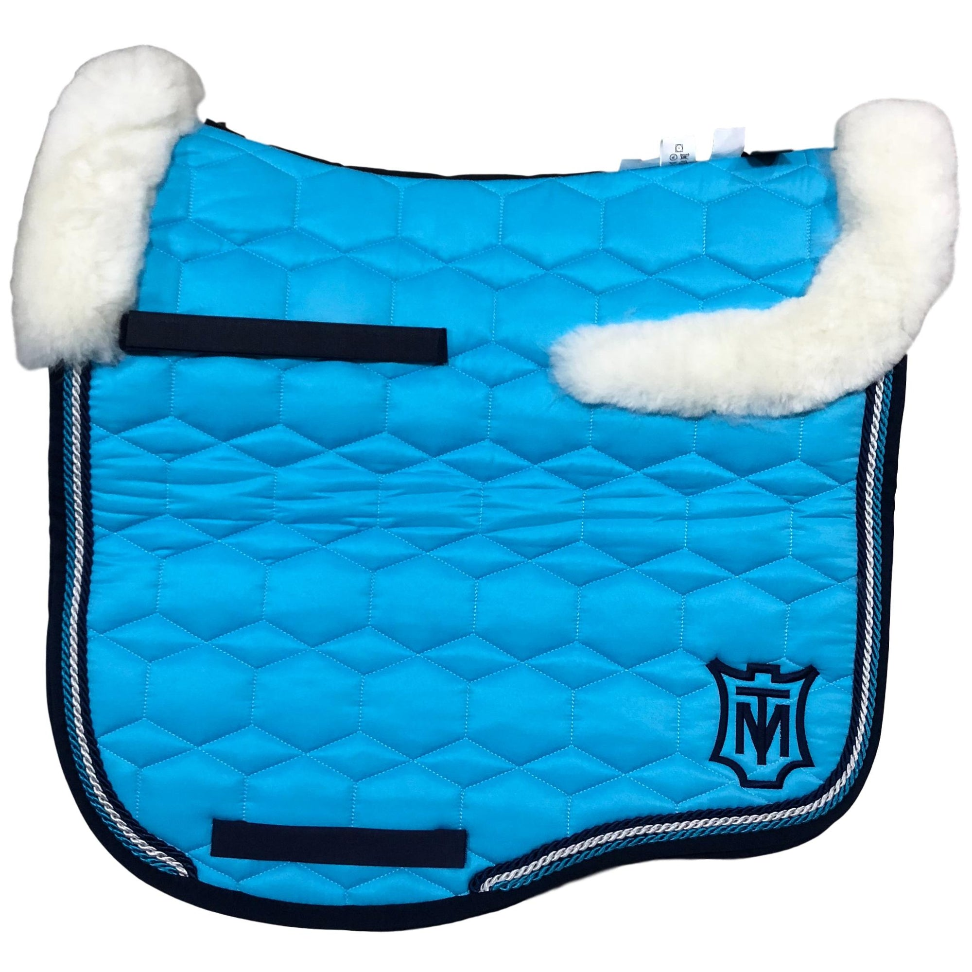 E.A Mattes Instock - M Size/Top Fleece - Turquoise Sheen & Navy