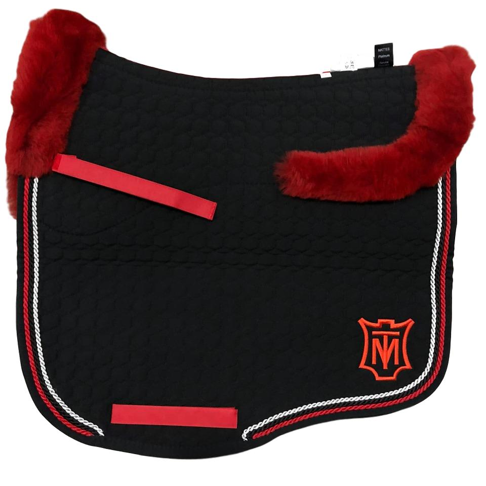 E.A Mattes Instock - L Size/Full Fleece - Black & Red