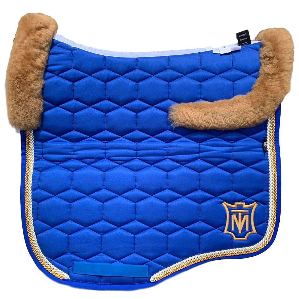 E.A Mattes Instock - S Size/Top Fleece - Royal Blue & Honey