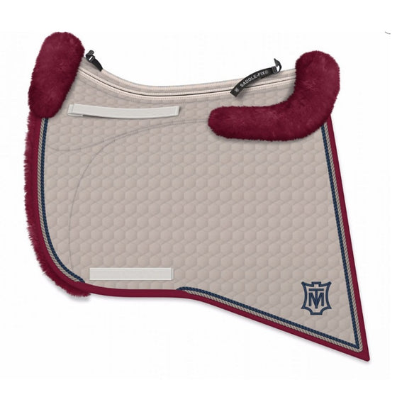 E.A Mattes Custom Baroque Saddle Pad - Hufglocken