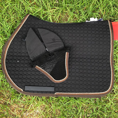 E.A Mattes Custom All Purpose Saddle Pad - Hufglocken