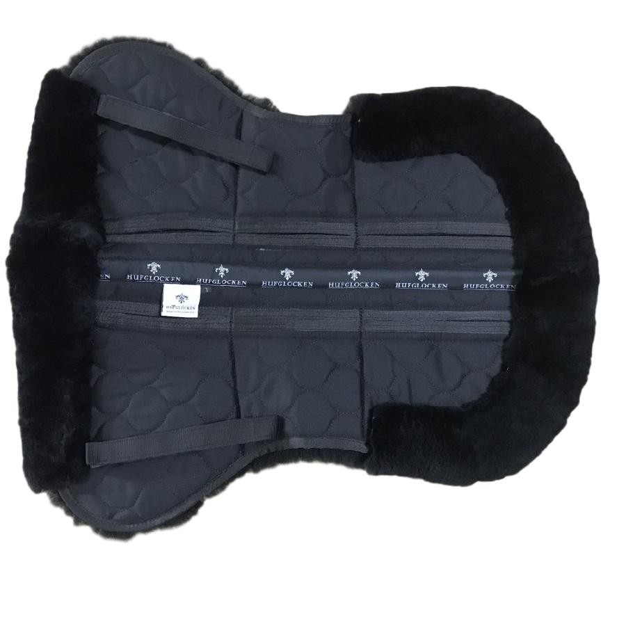 Sheepskin + Correctional Half Pad - Black