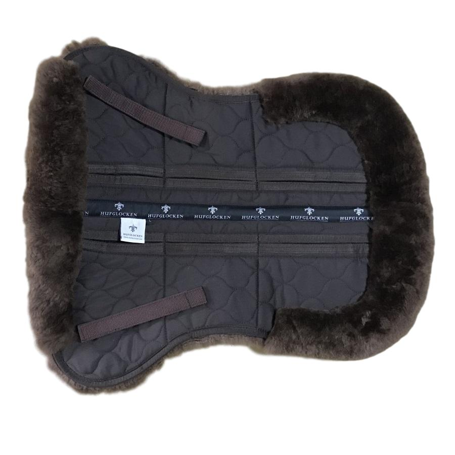 Sheepskin + Correctional Half Pad - Brown