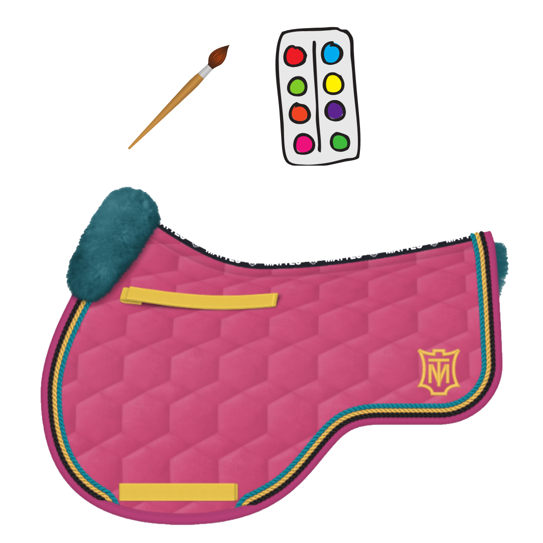 "E.A Mattes ""Design Online"" Eurofit All Purpose Saddle Pad"