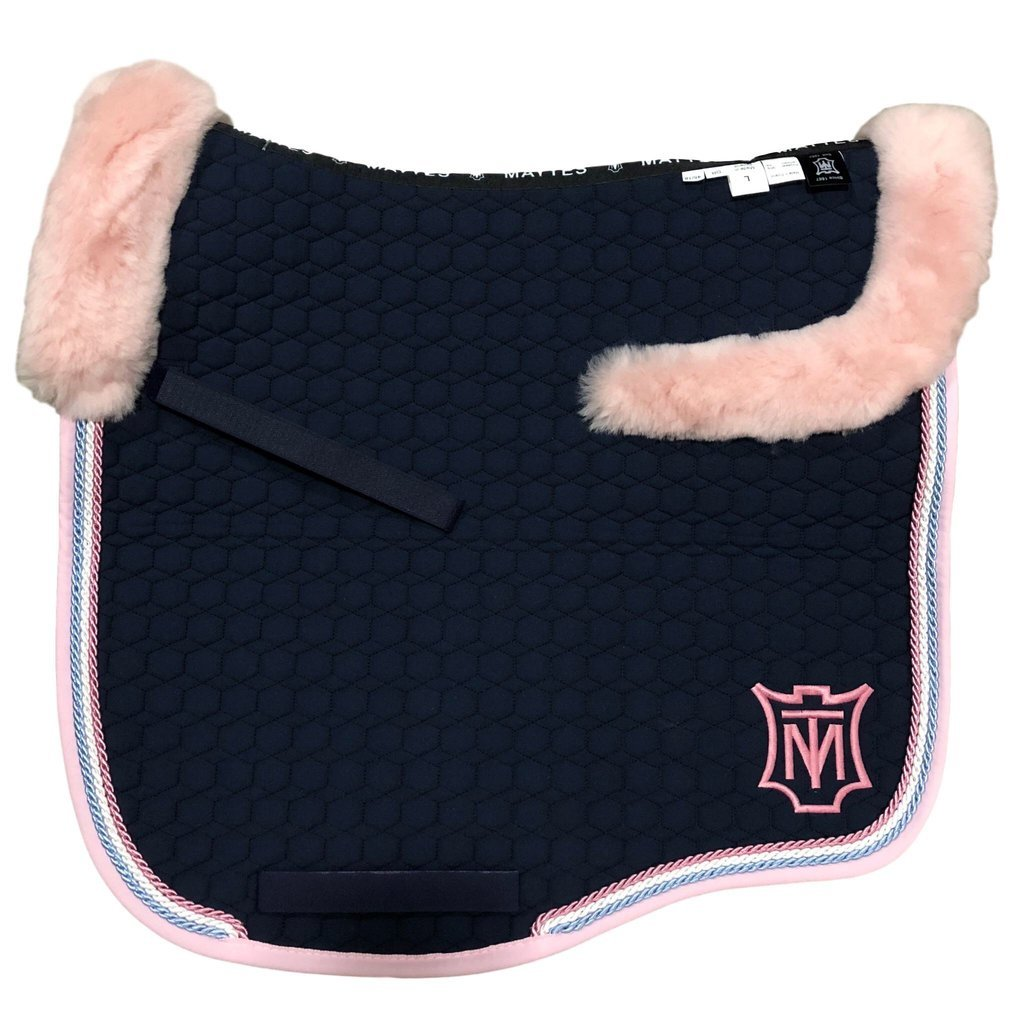 E.A Mattes Instock - S Size/Top Fleece - Navy & Rose
