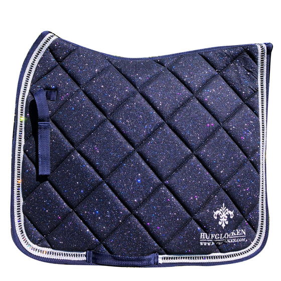 Diamant Dark Blue Saddle Pad - Hufglocken