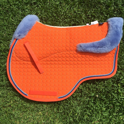 E.A Mattes Custom Jumping Saddle Pad - Hufglocken