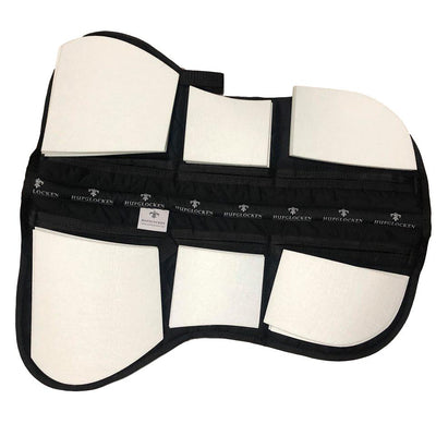 Cotton Correctional Half Pad - White