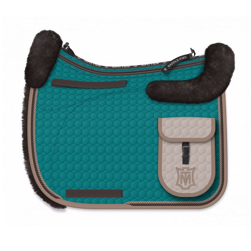 E.A Mattes Custom Endurance Saddle Pad - Hufglocken