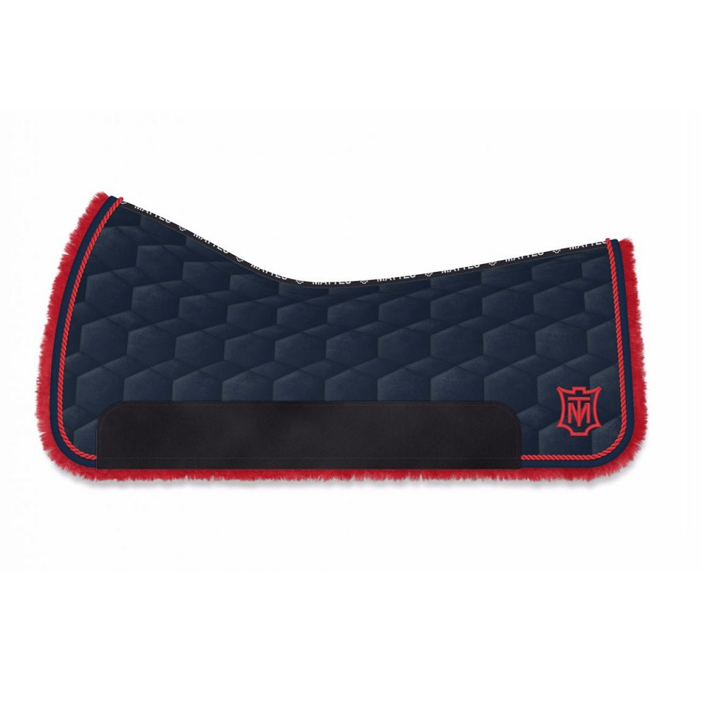 E.A Mattes Custom Western Saddle Pad - Hufglocken