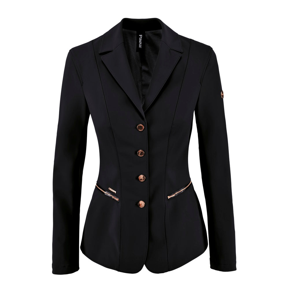Pikeur Paulin Ladies Jacket (Black/Rose Gold Details)