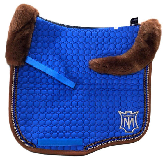E.A Mattes Instock - M Size/Full Fleece - Royal Blue & Whiskey - Hufglocken
