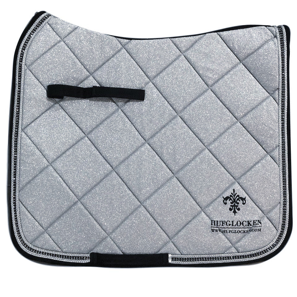 Diamant Silver Saddle Pad (ORDERABLE) - Hufglocken