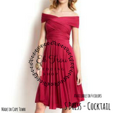 Cocktail multi way dress