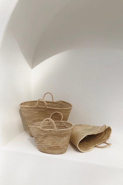 Souk Palm Basket - Medium