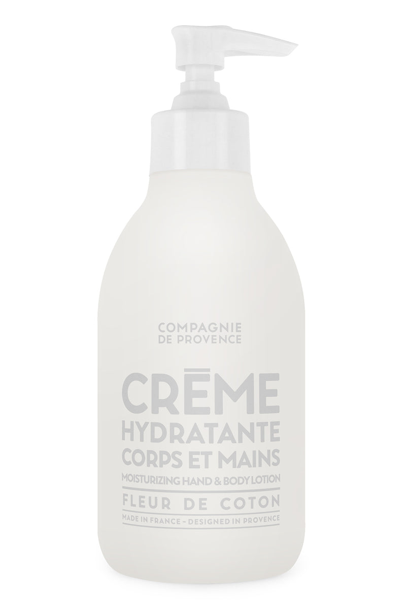 Compagnie de Provence Hand & Body Lotion - Cotton Flower 300ml