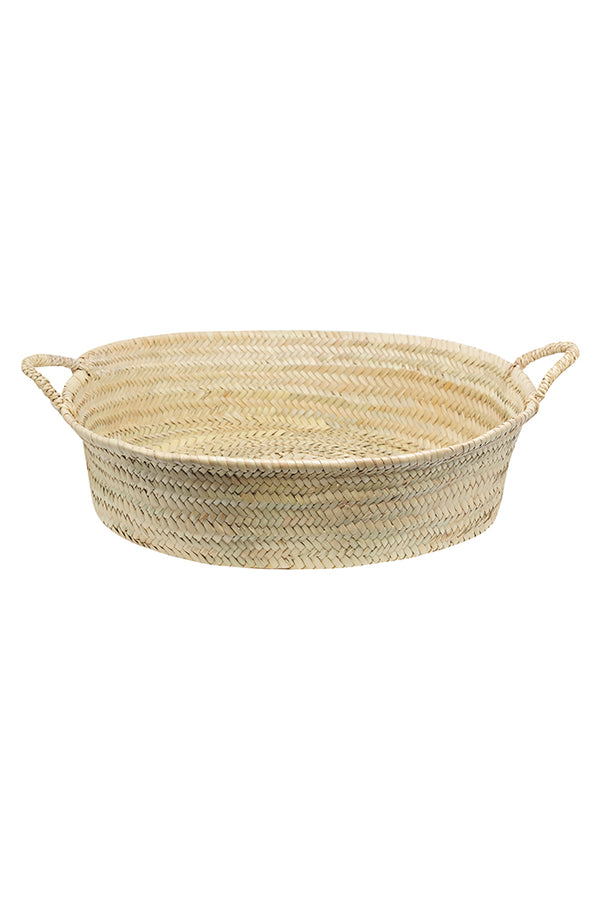 Moroccan Palm Tray - Large