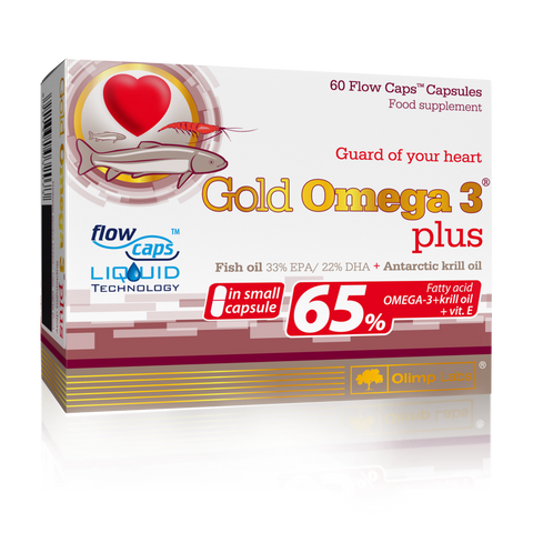 GOLD OMEGA 3® PLUS - 60 FLOW CAPE CAPS.