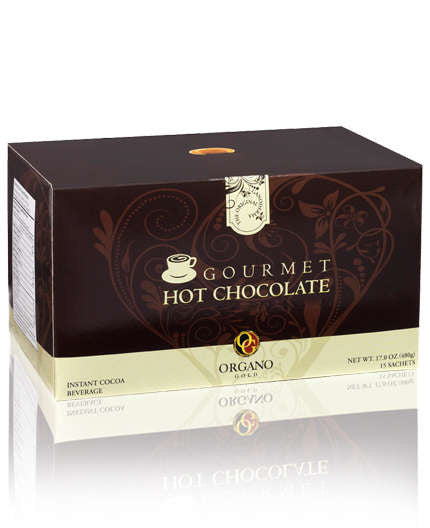 Hot Chocolate - 100% Certified GANODERMA - 15 SACHETS