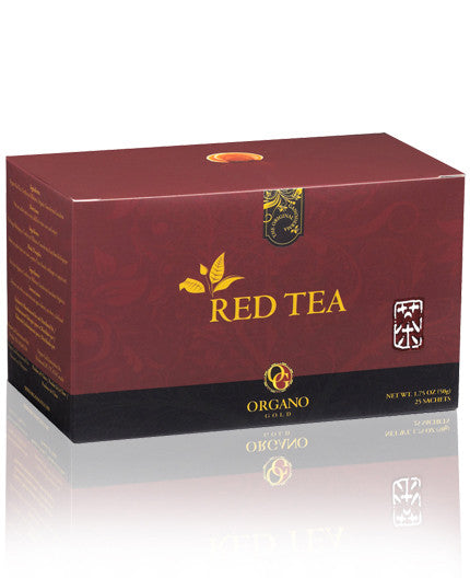 Red Tea - 100% Certified Organic Red Tea - 25 SACHETS