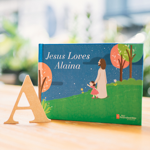 Personalized Children's Book - Jesus Loves