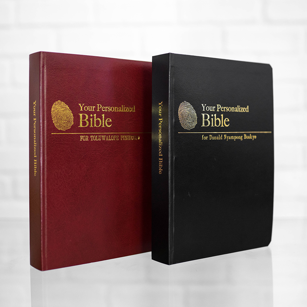 2 Personalized Complete Bibles