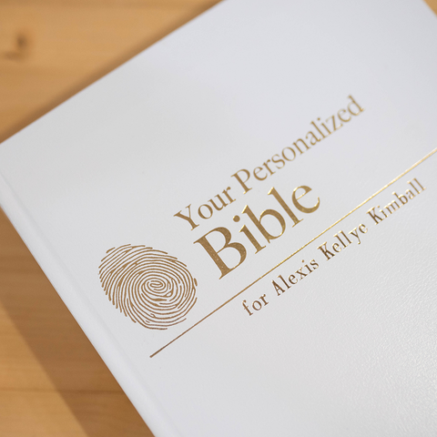 The Complete Personalized Bible [Bonded Leather]