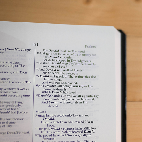 The New Testament with Psalms & Proverbs [Bonded Leather]