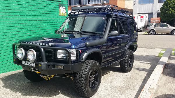 Land Rover Disovery 2 Expedition Rack For Rooftop Tent