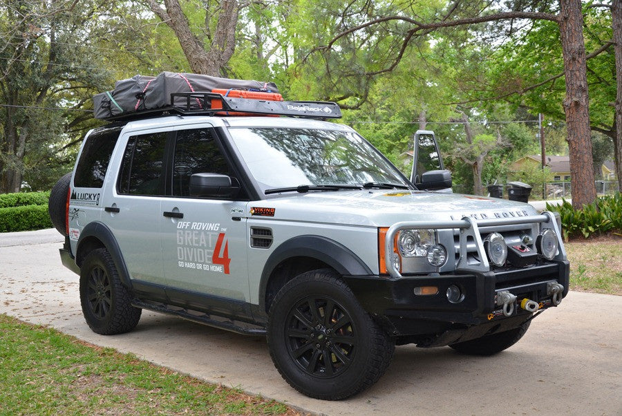 Land Rover Discovery 3 and 4 (LR3/LR4) Expedition Rack (2005-2015) & Land Rover Racks | Bajarack Australia