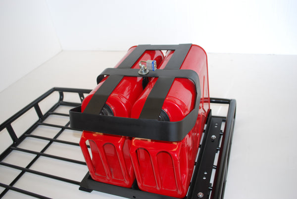 Dual Jerry Can Holder Bajarack Australia