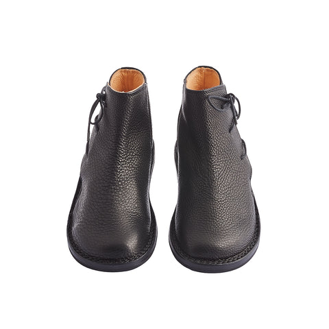 This gorgeous new ankle boot from Trippen is handcrafted in the softest calf leather and features side lacing for the perfect fit. Ancestor features the flexible yet durable 'stick' closed sole and also boasts Trippen's signature cork and leather insole offering just the right level of support and comfort.