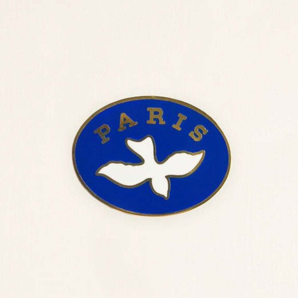 Paris Enamel Lapel Pin