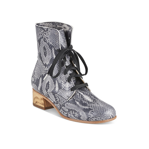 Cricket Boot grey snake
