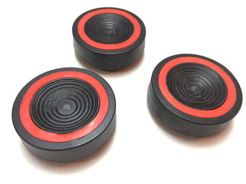 Vibration suppression pads