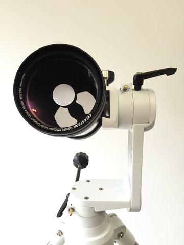 Adjustable angle Alt-Azimuth Mount for telescope