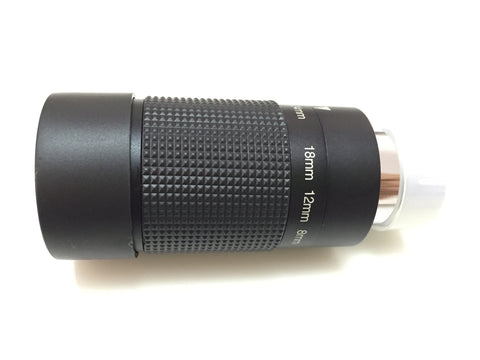 "8-24mm 1.25"" Zoom Eyepiece for Telescope"
