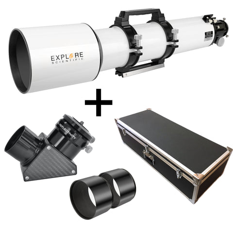 EXPLORE SCIENTIFIC ED127 ESSENTIAL SERIES AIR-SPACED TRIPLET REFRACTOR TELESCOPE