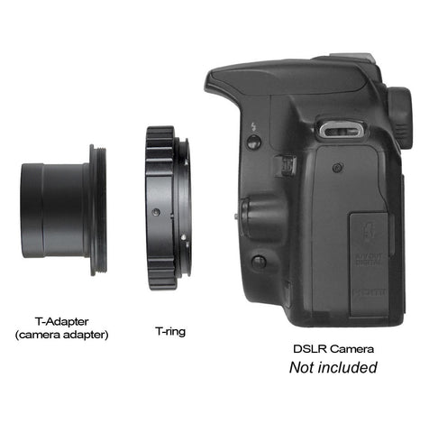 DSLR T-Rings & Adapter - Camera adapter