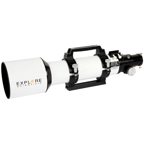 EXPLORE SCIENTIFIC ED102 ESSENTIAL SERIES AIR-SPACED TRIPLET REFRACTOR TELESCOPE