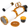 William Optics Gran Turismo 102mm f/6.9 Imaging APO Triplet Refractor FPL-53 ED APO GT102 Telescope Astrophotograph Imaging Package with FLAT68III flattener, guide scope, carry bag