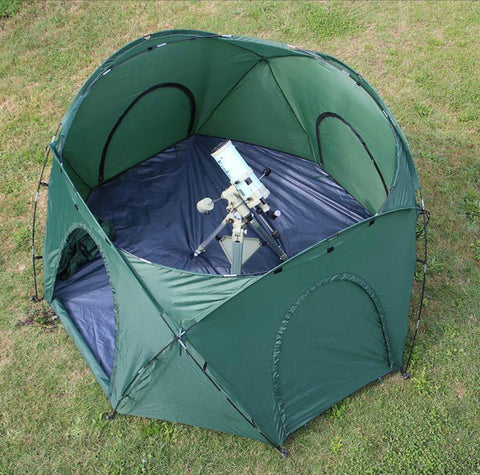 Telescope Portable Observatory Tent for Equipment Protection, Light Pollution
