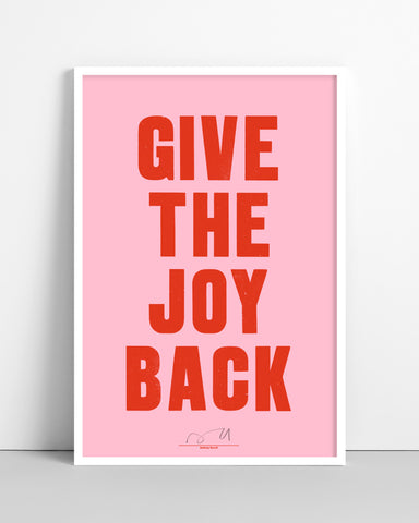 Give The Joy Back