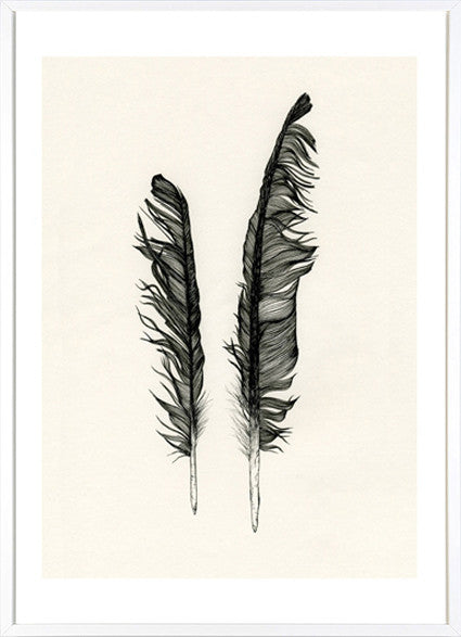 Twin Feathers