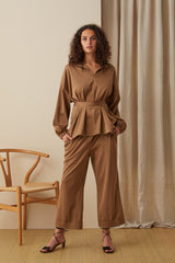 NZ Fashion Clothing Boutique gregorythelabel Gregory AW20 Made in NZ Carlotta Pant DP10559