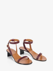 ATP Atelier Cachi Brunello Vacchetta Leather Sandals