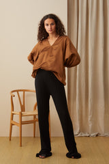NZ Fashion Clothing Boutique gregorythelabel Gregory AW20 Made in NZ Lavinia Pant DK10485