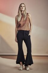 NZ Fashion gregorythelabel SS16/17 Cropped Flares Made in New Zealand