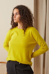 Consuela Cashmere Jumper Yellow
