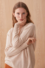Consuela Cashmere Jumper Honey